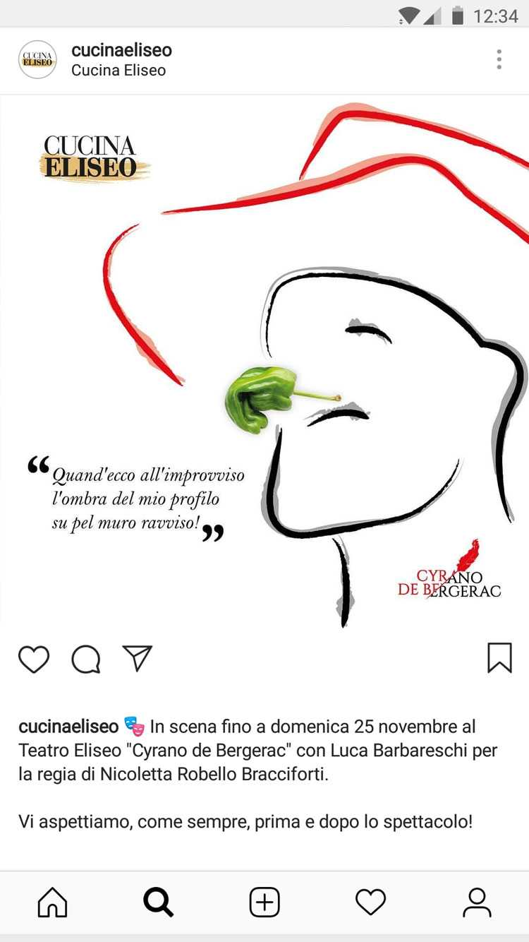 Cucina Eliseo – Graphic Design by LES Visual Stories