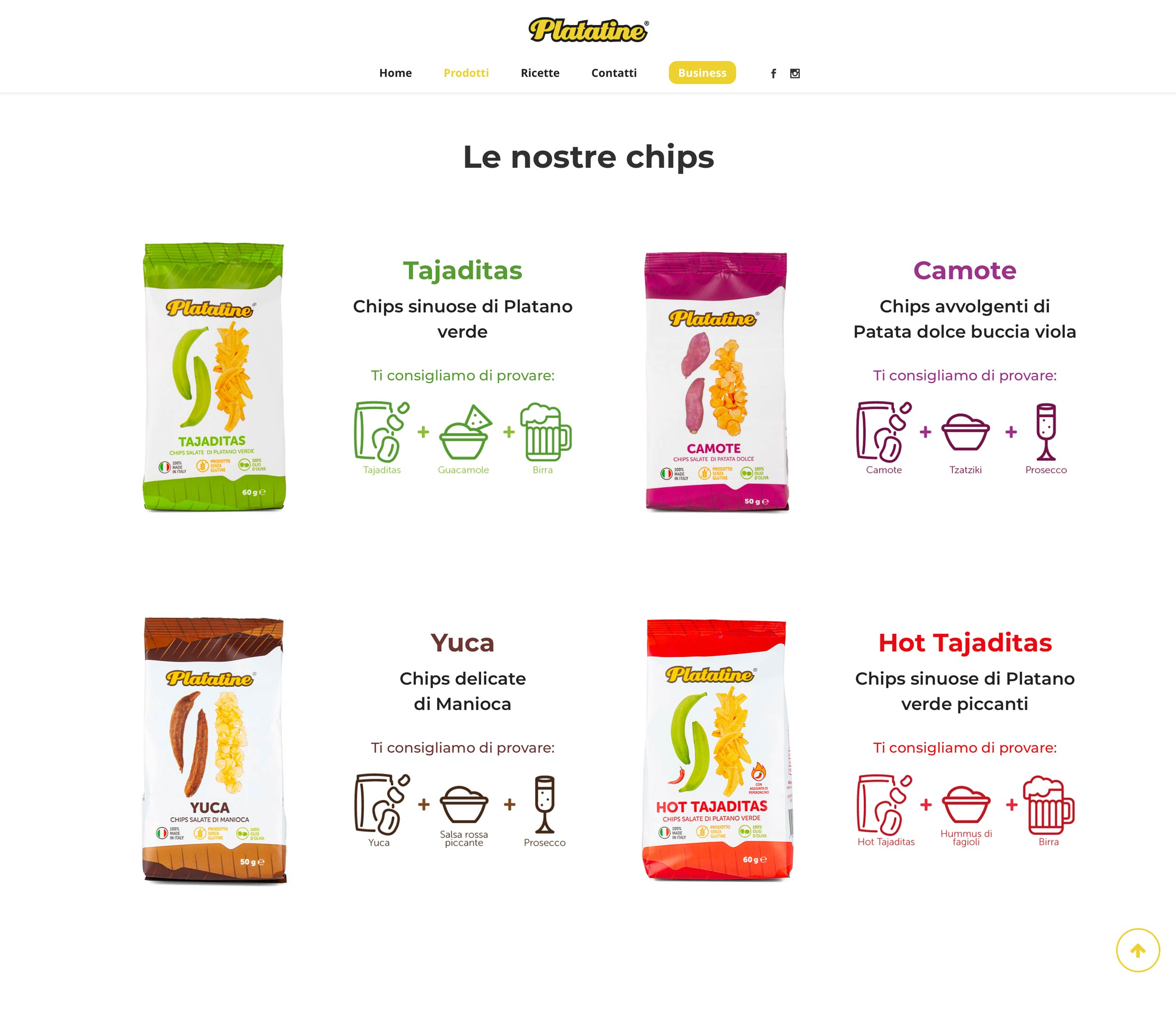 Platatine – Web Deisgn by LES Visual Stories