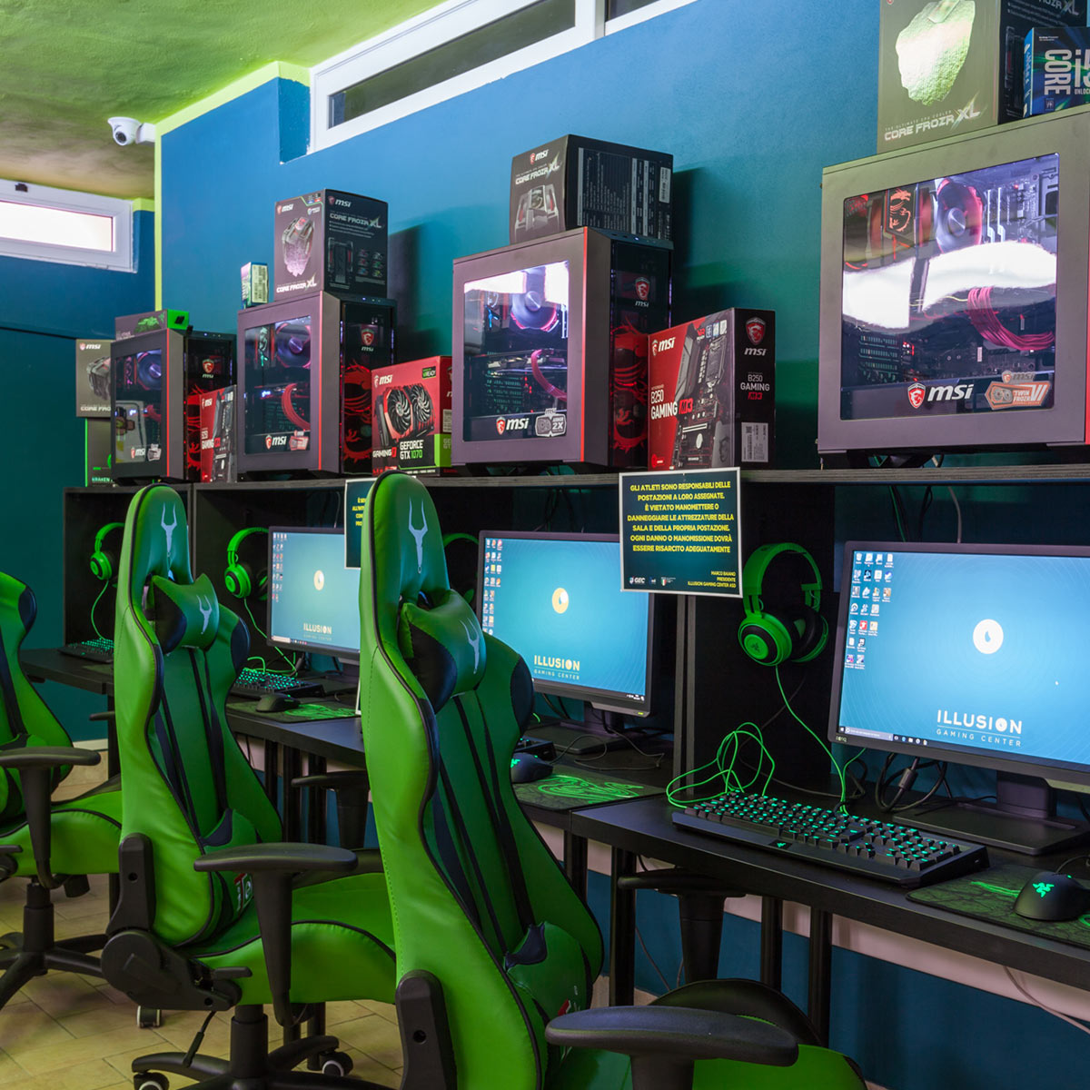 Illusion Gaming Center