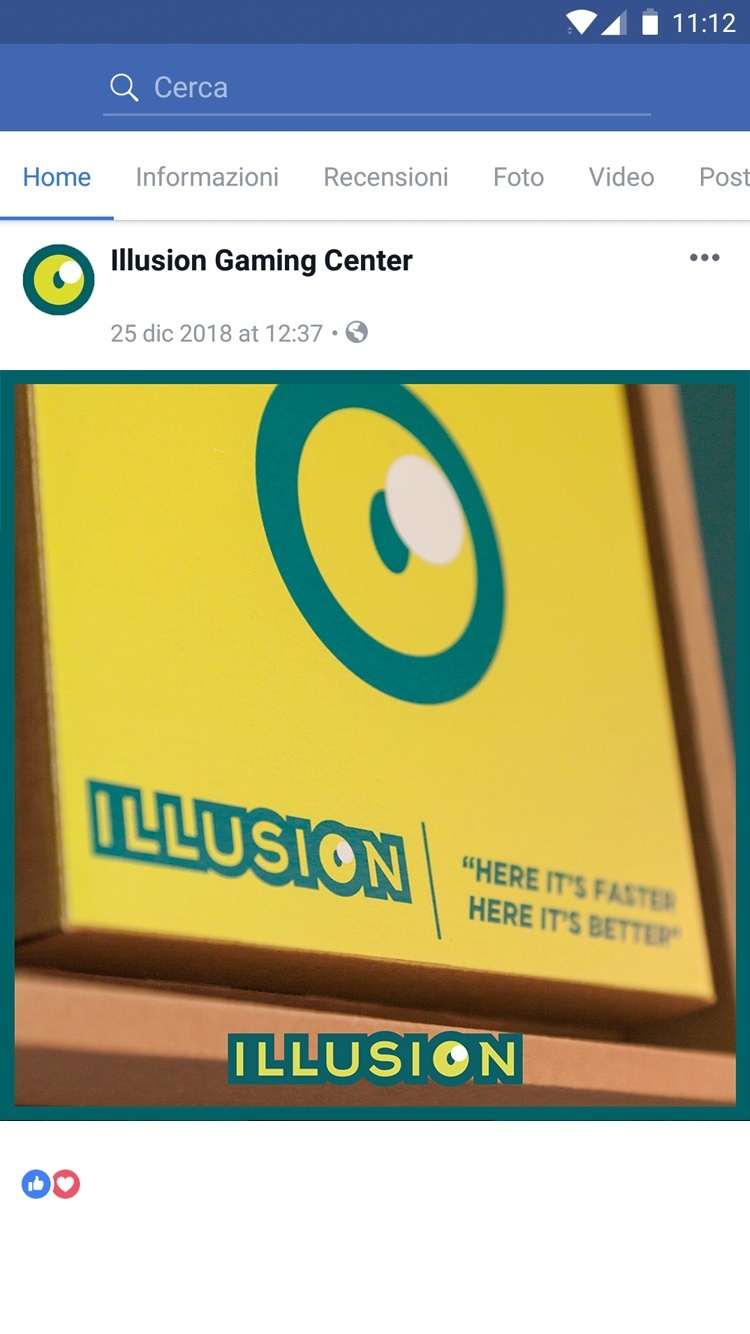 Illusion Gaming Center – Graphic Design by LES Visual Stories